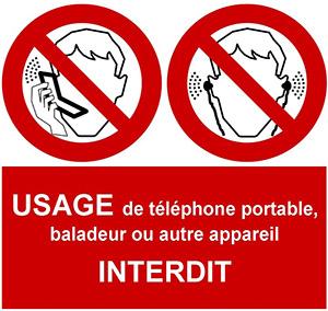 TwinLoc Bordeaux défenser de téléphoner dans nos voitures de location Bordeaux